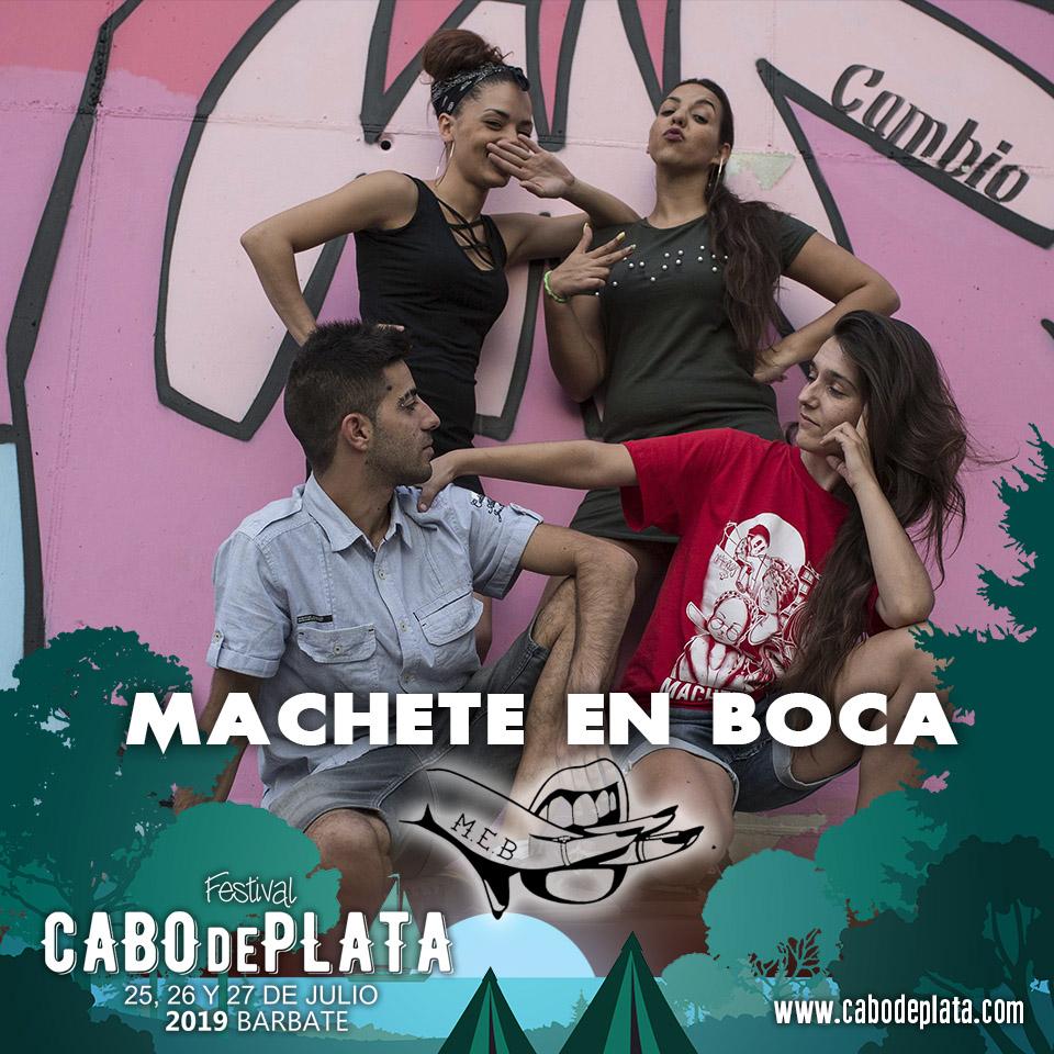 El torbellino femenino de MACHETE EN BOCA se suman al cartel artístico del festival